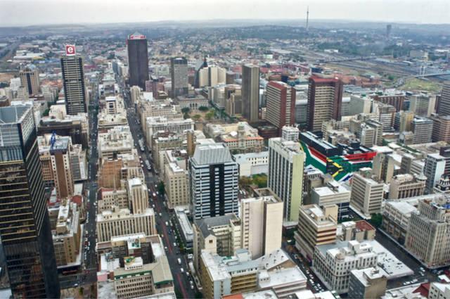 South African schoolchildren are set to benefit from driving lessons. Johannesburg skyline image by Svitlana Avramenko (via Shutterstock).