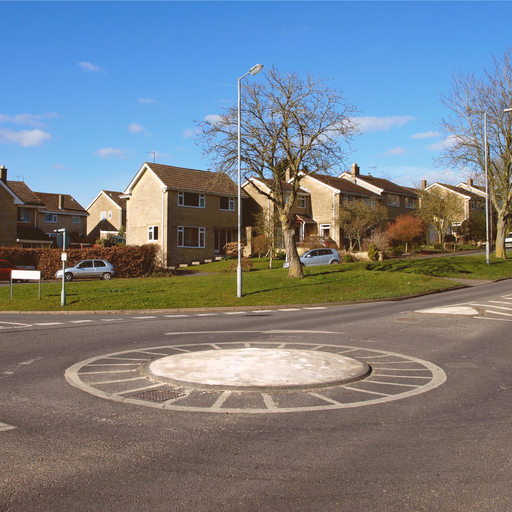 Mini Roundabout. Image by 1000 Words (via Shutterstock).