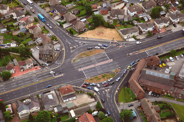 Roundabout training image by Neil Mitchell (via Shutterstock).