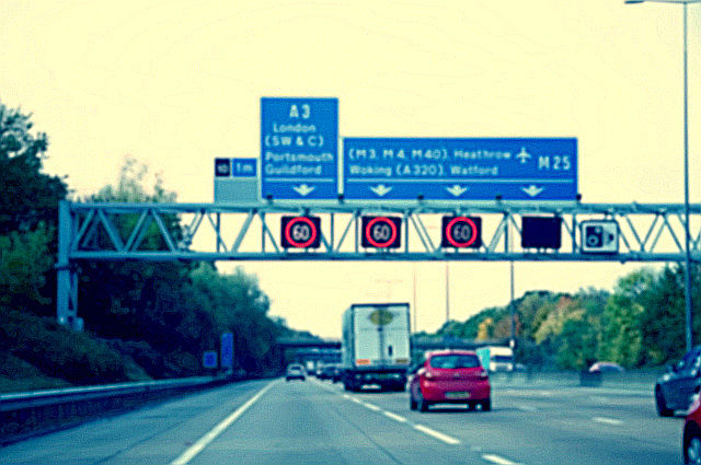 Smart Motorways image by Tatchaphol (via Shutterstock).