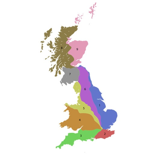 UK Road Zones