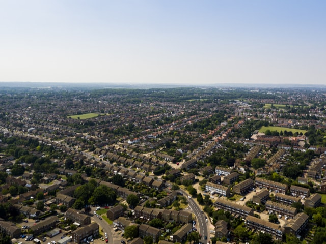 Rainham Aerial Shot