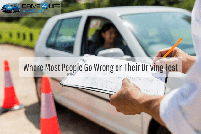 Where Most People Go Wrong on Their Driving Test
