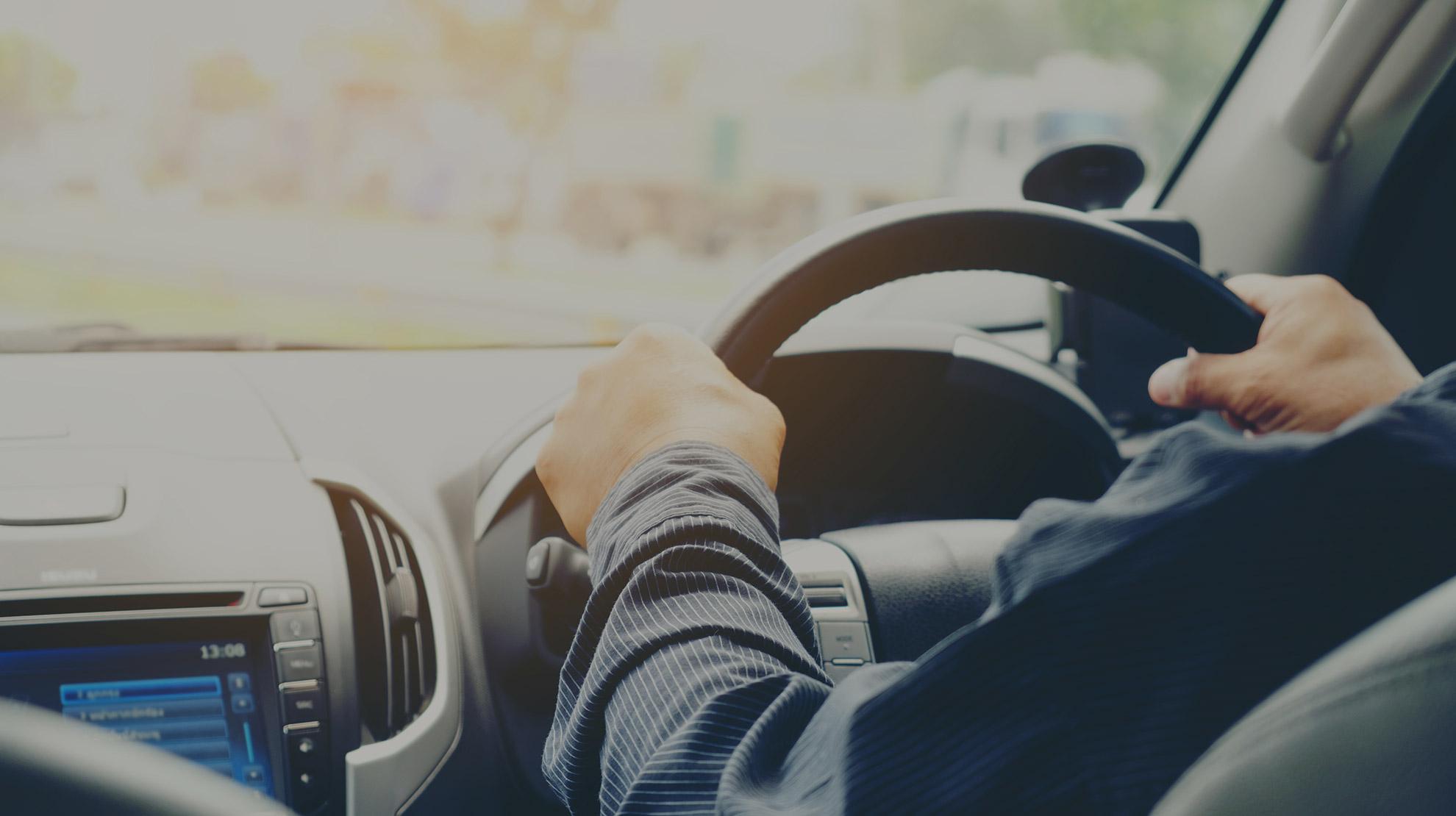 Driving Lesson in Progress